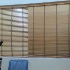 Rèm sáo gỗ
