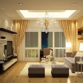 Rèm phòng khách 01