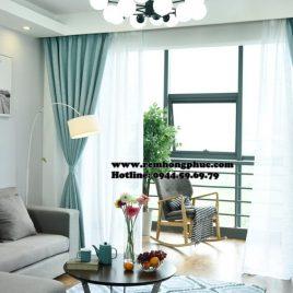 Rèm vải gấm bố cao su chống nắng (blackout curtains)
