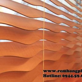 Rèm sáo gỗ nghệ thuật – Art wood blinds