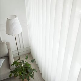 Rèm vải voal trơn – Day curtains
