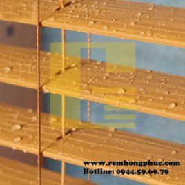 Rèm sáo gỗ chịu ẩm – Waterproof wood blinds