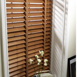 Rèm sáo gỗ lá rộng – Wood blinds