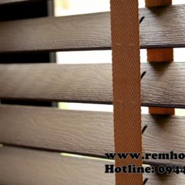 Rèm sáo gỗ cao cấp – Luxury wood blinds