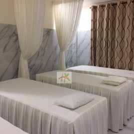 Drap giường massage – Drap spa