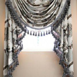 Rèm nữ hoàng (rèm sò) – Swag curtains