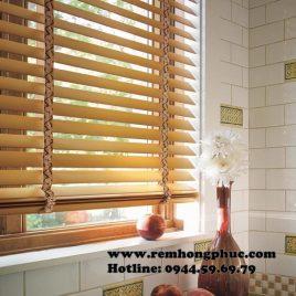 Rèm sáo gỗ tiêu chuẩn – Standard wood blinds