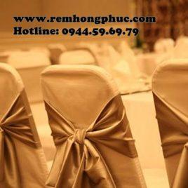 Bọc ghế, Nơ ghế Hội nghị Tiệc cưới – Chairs cover